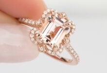 Photo of Fine Morganite Rings As per Your Requirement