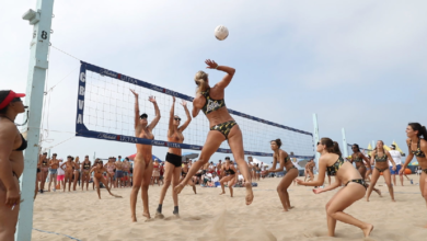 Photo of Regulation Volleyball Net Heights