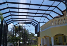 Photo of Verandas Often Have Both Screen and Glass Enclosures
